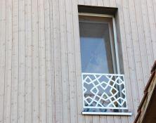"Balkon-/Fensterverkleidung ""Ornament"""